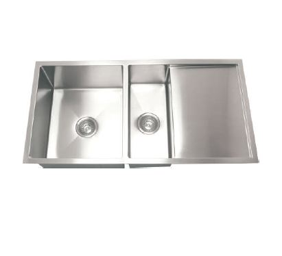 Hafele Viviana R- One and Half Bowl with Drain Board SS Kitchen Sink