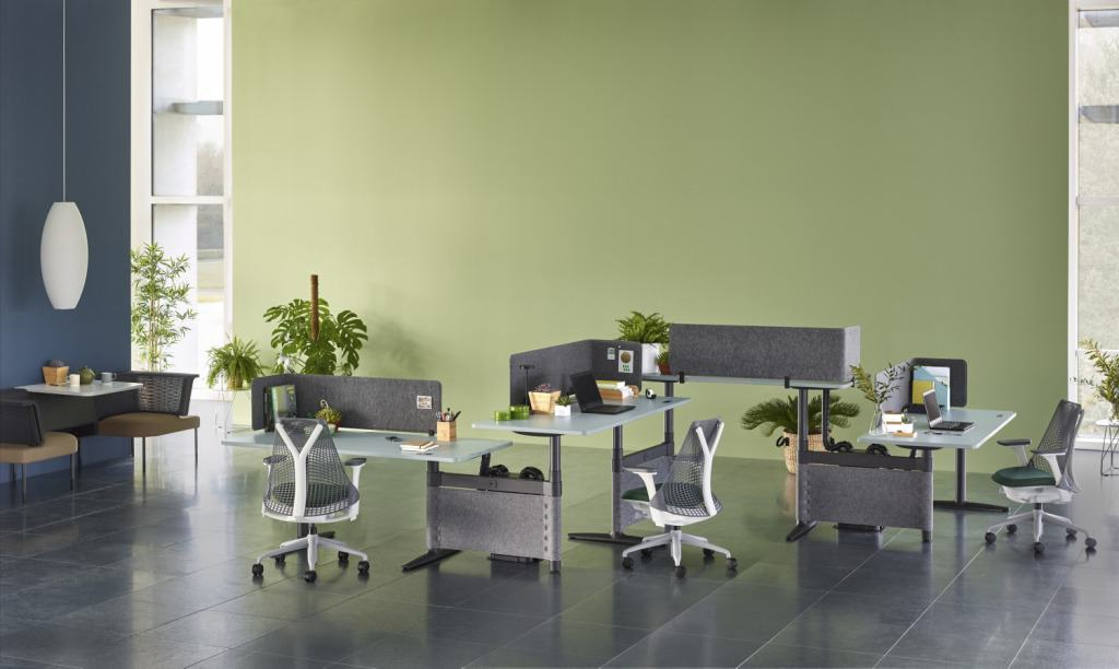 Herman Miller Atlas Office Landscape Workstation