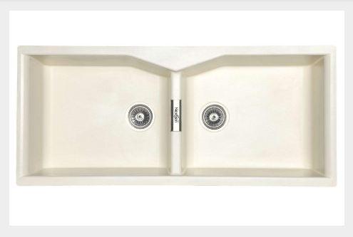 Nexgen QI -005 Double Bowl Without Drainer Granite Sink