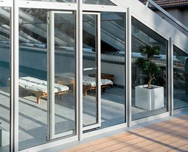 Schuco Sliding Doors -tilt - slide - doors