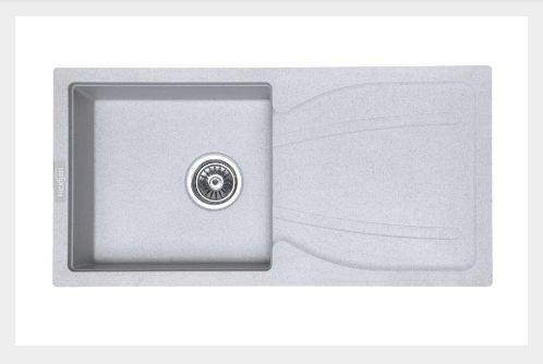 Nexgen QI – 007 Single Bowl With Drainer Granite Sink