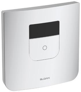 Sloan TruFlush Flushometer - White with sensor