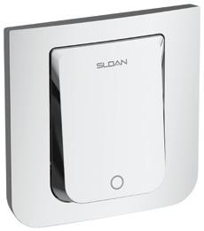 Sloan TruFlush Flushometer - White - without sensor