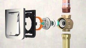 Sloan TruFlush Flushometer - anatomy