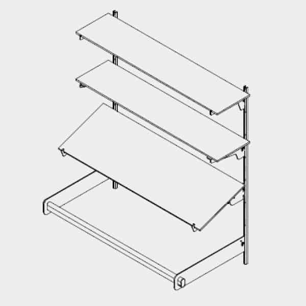 display-shelving-system-vertical-Ebco Retail Display Systems 1