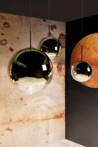 Designer Tom Dixon -Mirror-Ball-Gold-Portrait-600