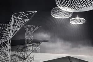Designer Tom Dixon -Pylon Black Landscape