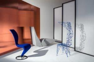 Designer Tom Dixon - The Veterans - S Chair, Bird, Pylon