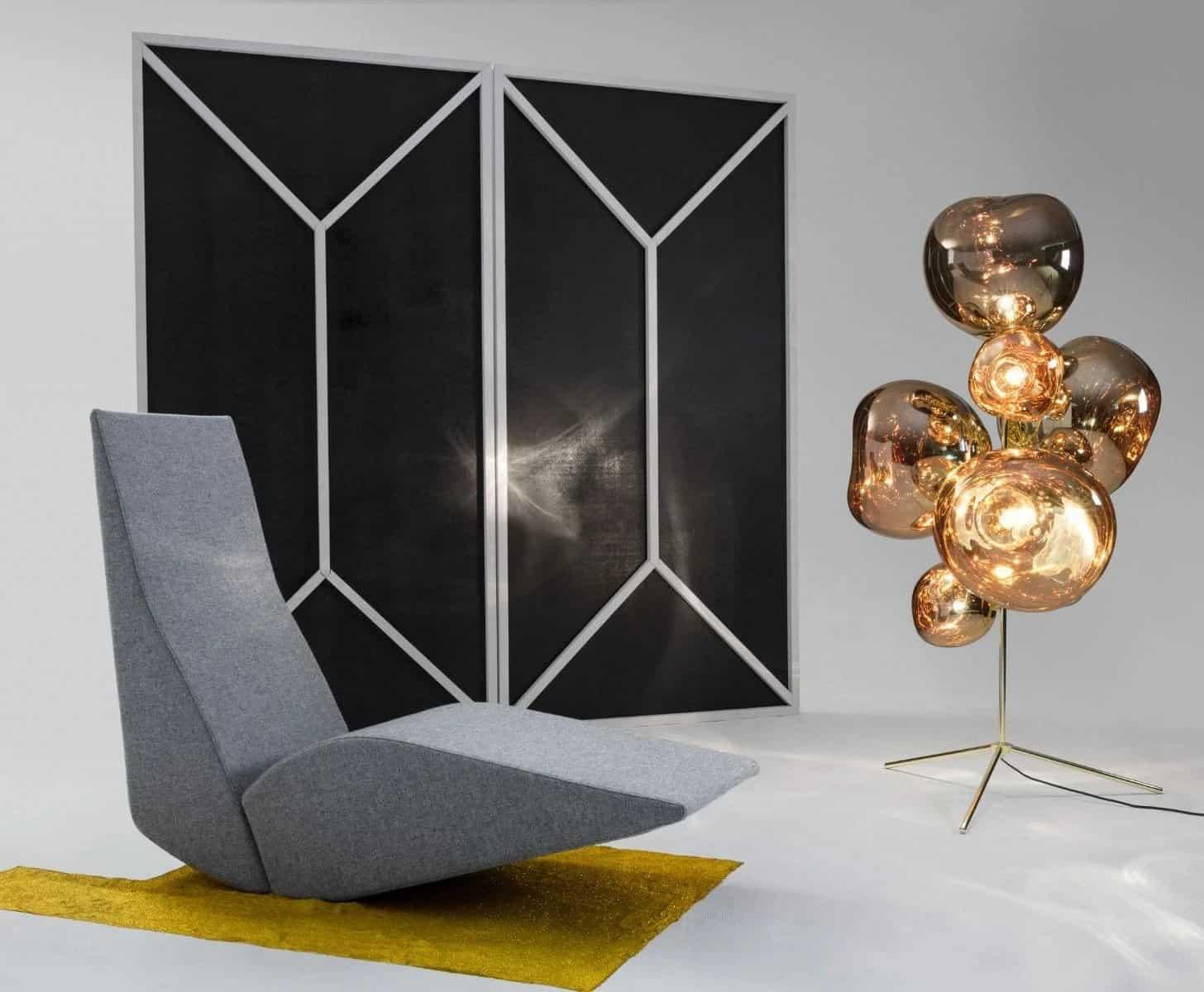 Designer Tom Dixon - mirror ball