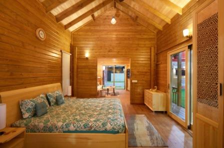 Fully Functional Wood Houses made with Canadian Wood - 5