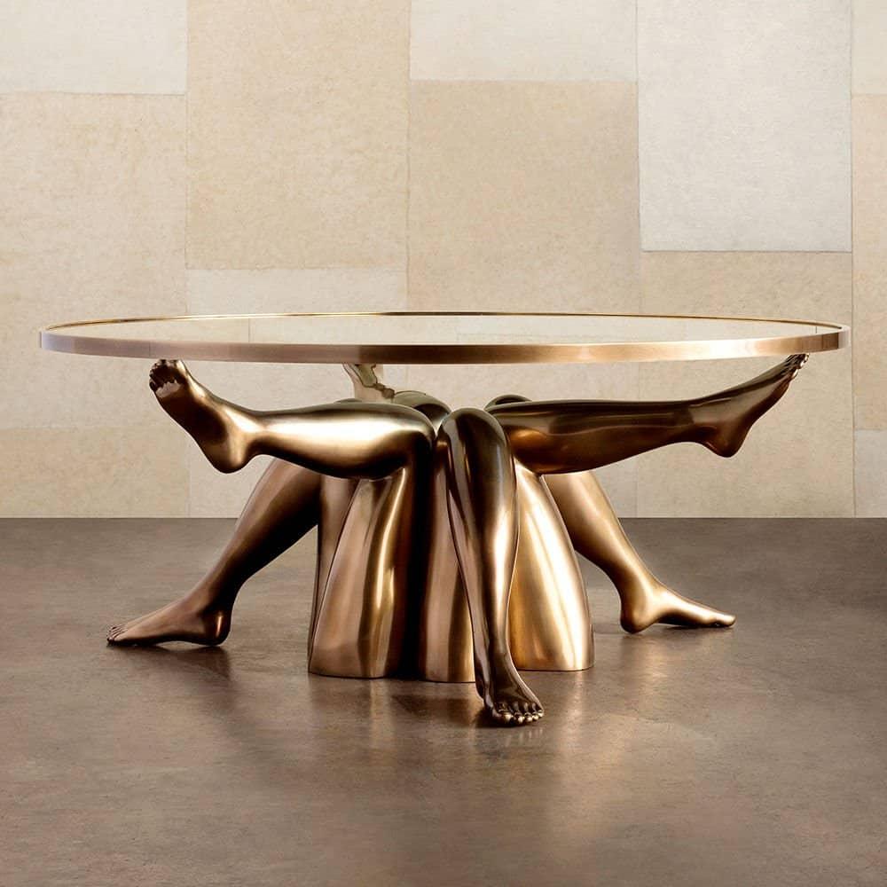 Kelly Wearstler designer home decor_coffee table _color.BURN_view.1