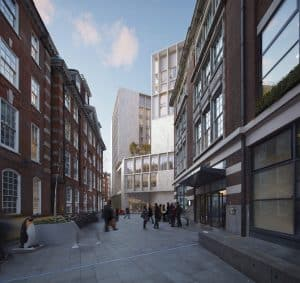 Pritzker Prize 2020 – The Marshall Building LSE, London -View-from-John-Watkins-Plaza-Low-Res_670