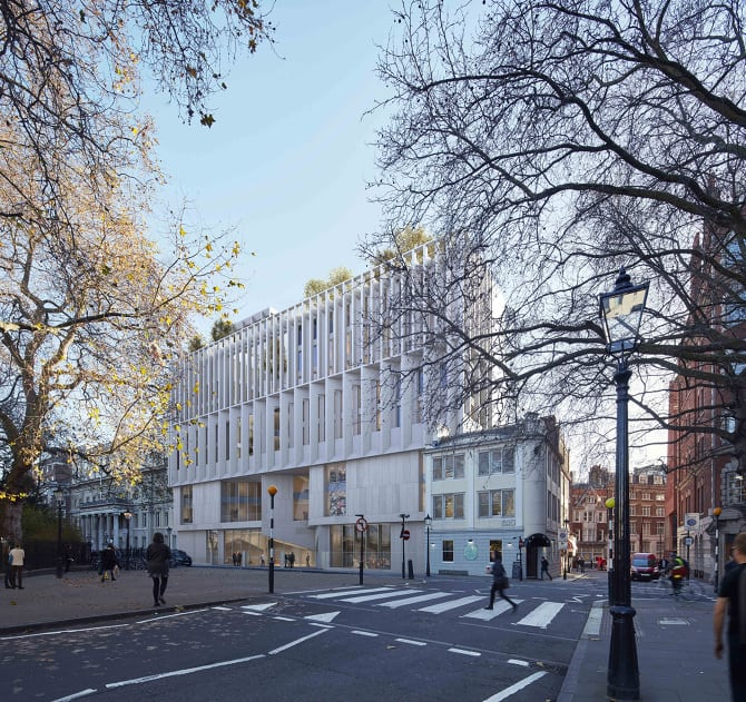 Pritzker Prize 2020 – The Marshall Building LSE, London -View-from-LIF-adjacent-to-New-Academic-Building-Low-Res_-Crop_670