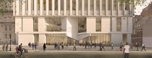 Pritzker Prize 2020 – The Marshall Building LSE, London -View-of-Entrance-Lower-Res_670