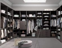 Sliding Doors Wardrobe Design _ closet surface dark