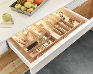 Sliding Doors Wardrobe Design _ drawer organizer