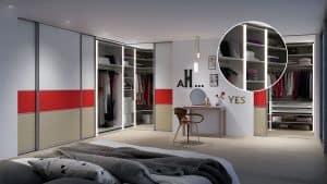 Sliding Doors Wardrobe Design _ lighting 6