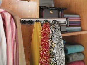Sliding Doors Wardrobe Design _ scarf accessory