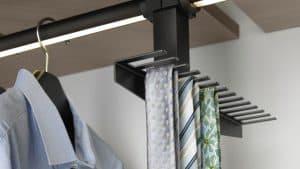 Sliding Doors Wardrobe Design _ tie accessory