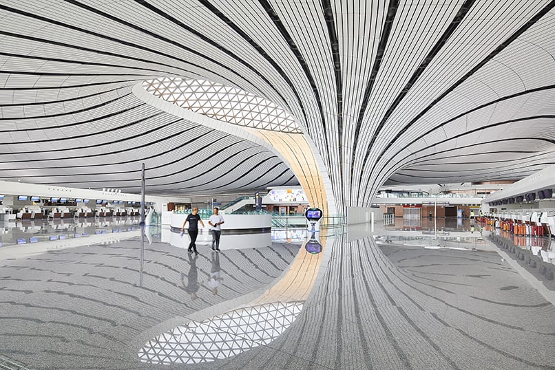 Zaha Hadid Projects -World Architecture Community Awards 2020 - Beijing Daxing International Airport - 3