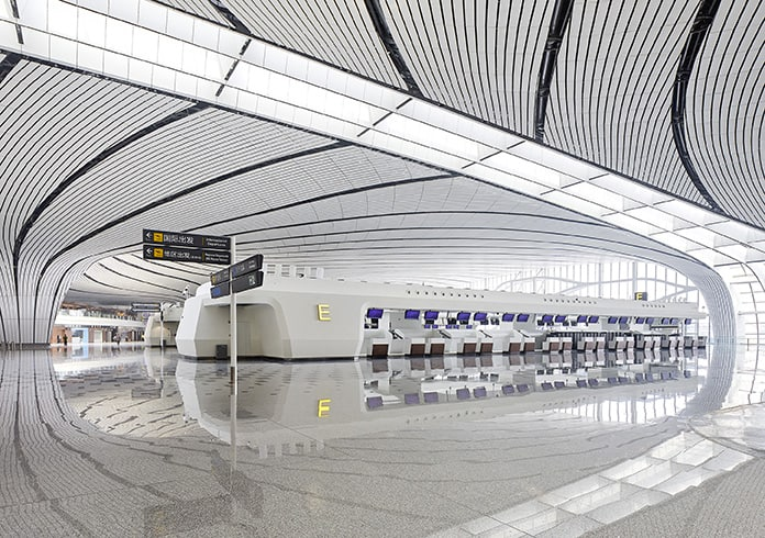 Zaha Hadid Projects -World Architecture Community Awards 2020 - Beijing Daxing International Airport - 4