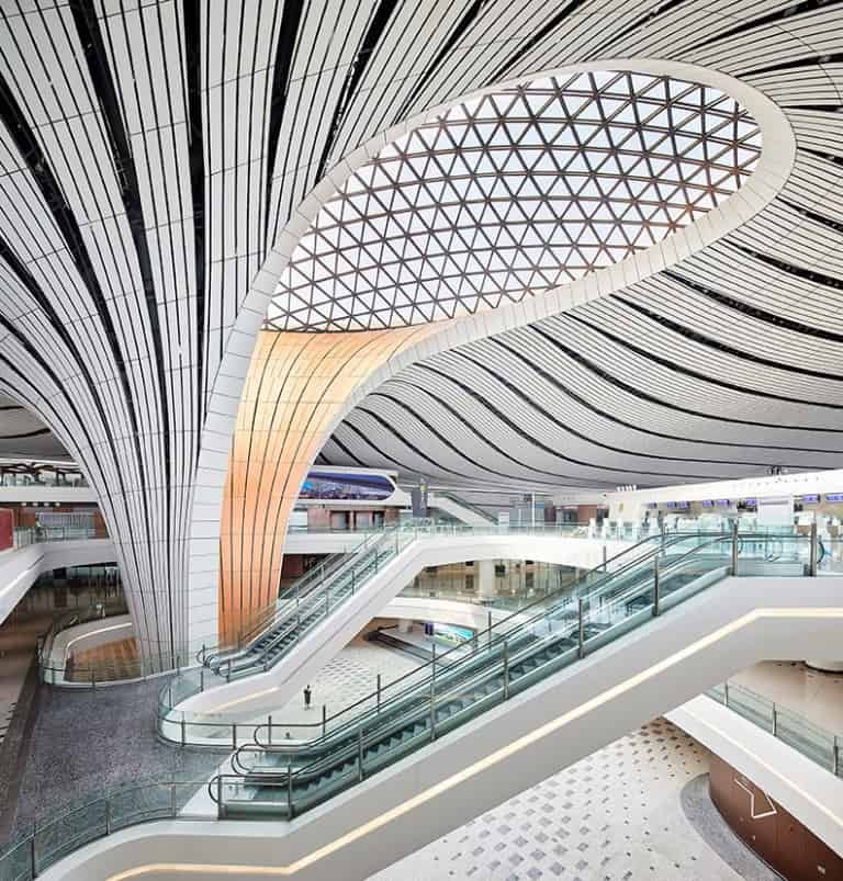 Zaha Hadid Projects -World Architecture Community Awards 2020 - Beijing Daxing International Airport - 5