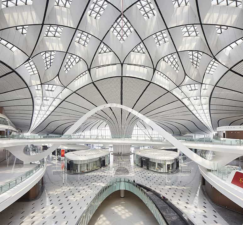 Zaha Hadid Projects -World Architecture Community Awards 2020 - Beijing Daxing International Airport - 7
