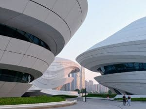 Zaha Hadid Projects -World Architecture Community Awards 2020 - Changsha Meixihu International Culture and Art Centre - 1