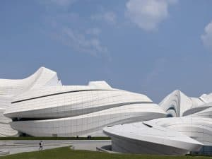 Zaha Hadid Projects -World Architecture Community Awards 2020 - Changsha Meixihu International Culture and Art Centre