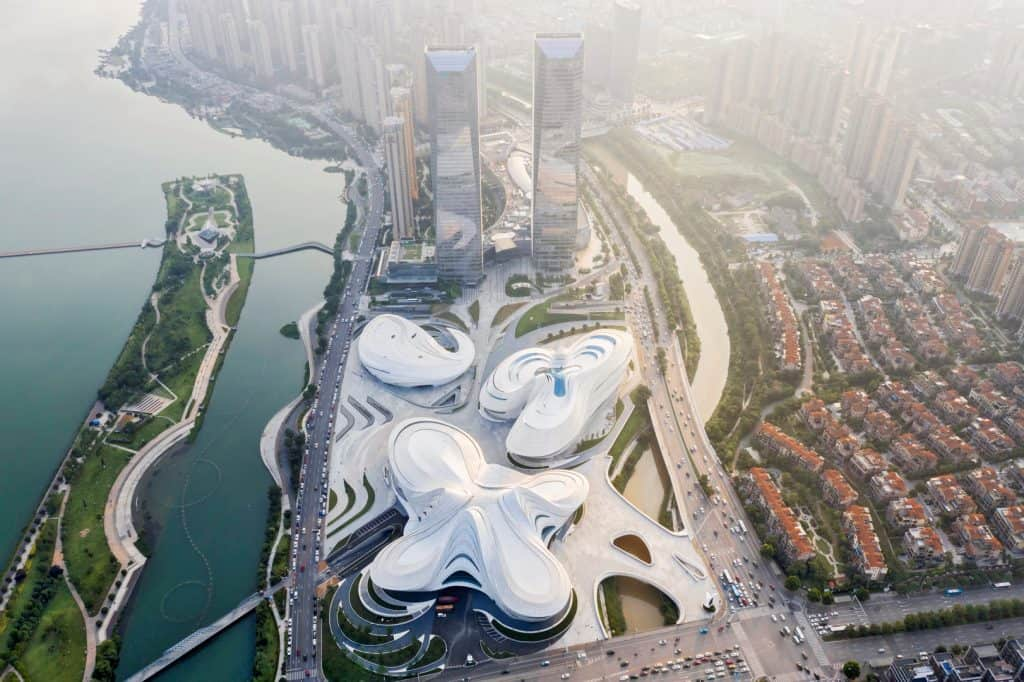 Zaha Hadid Projects -World Architecture Community Awards 2020 - Changsha Meixihu International Culture and Art Centre - 4