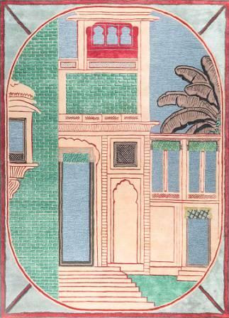jaipur rugs -handmade carpet -Jaipur Wunderkammer