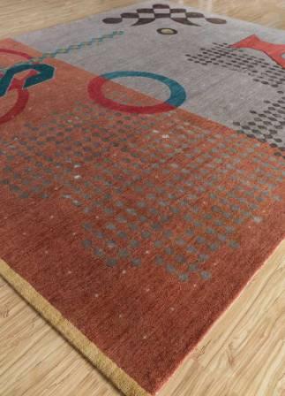 jaipur rugs -handmade carpet - Kolam 1