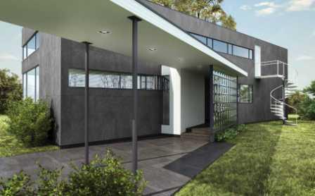 Ventilated Curtain Wall System - RAK Ceramics Maximus Slabs - 3