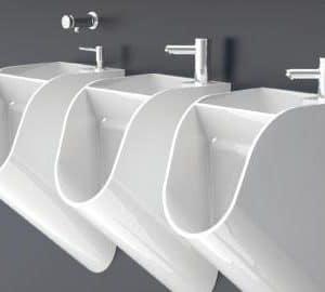 Urinal and Wash Basin Combo 1