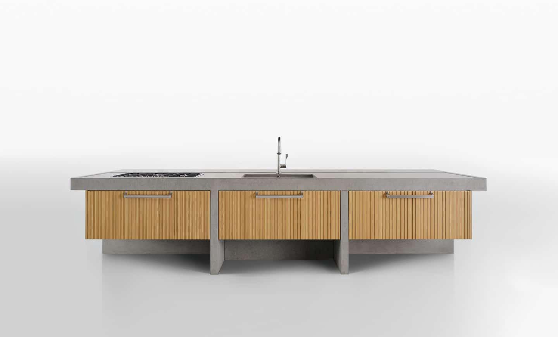 Arclinea Island Kitchen - Lignum et lapis 9
