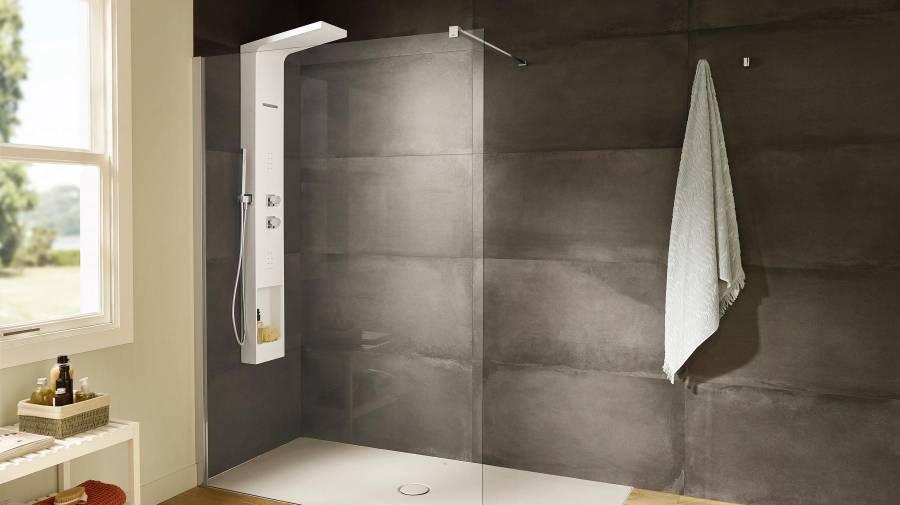 Roca _ Eternal _thermostatic hydromassage column_shower 1