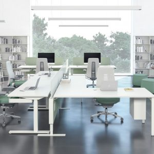 Haworth Compose Connections Partition Systems For Open Plan Workspaces