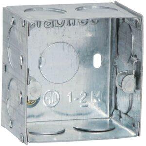 Crabtree Murano Flush Metal Boxes 1