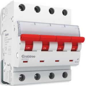 Crabtree XPRO Switchgear Isolator FP 40 A