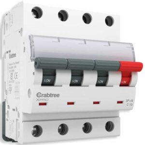Crabtree XPRO Switchgear MCB_10A