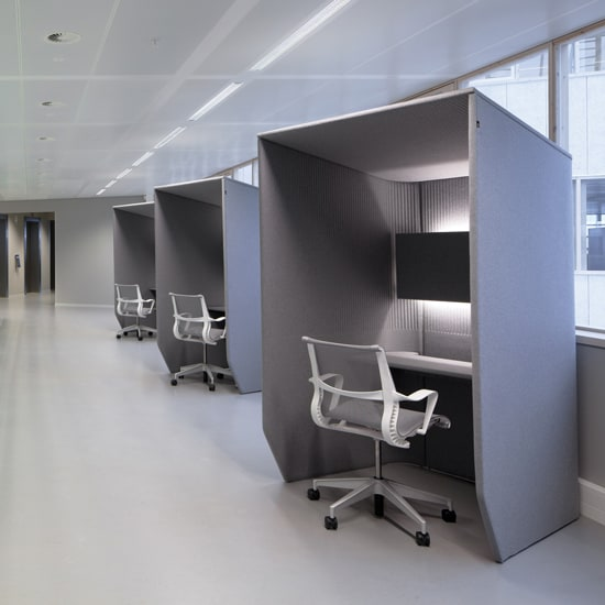 Haworth BuzziBooth | Acoustic Booth | Office Partition