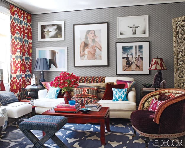 Summer Decor Trends For 2020_ mixed prints