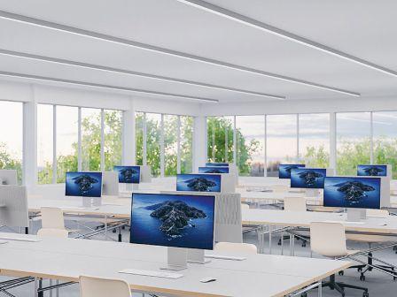 Regent RUN+ Office Light Diffuser