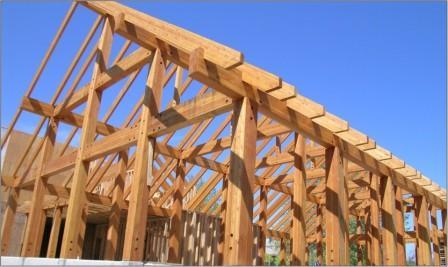 Wood Building Glulam Structure