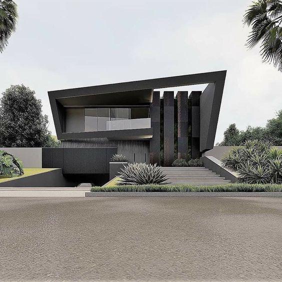 beautiful dark grey elevation design images