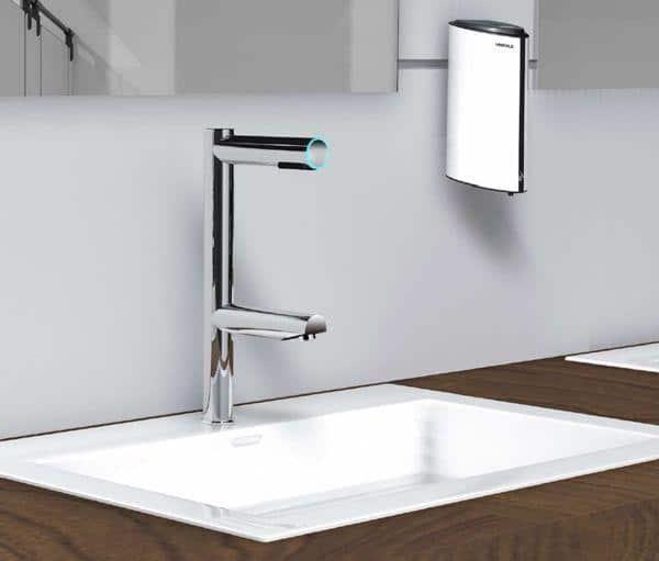 Hafele Sensor Basin Faucet and Soap Dispenser | Hafele CO-VI-D Range