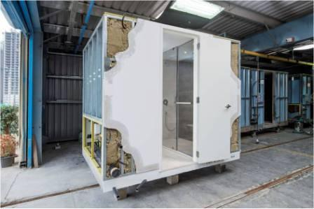 Factory Made Toilet Pods