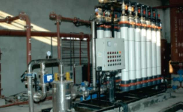 Water treatment solutions - UF membrane