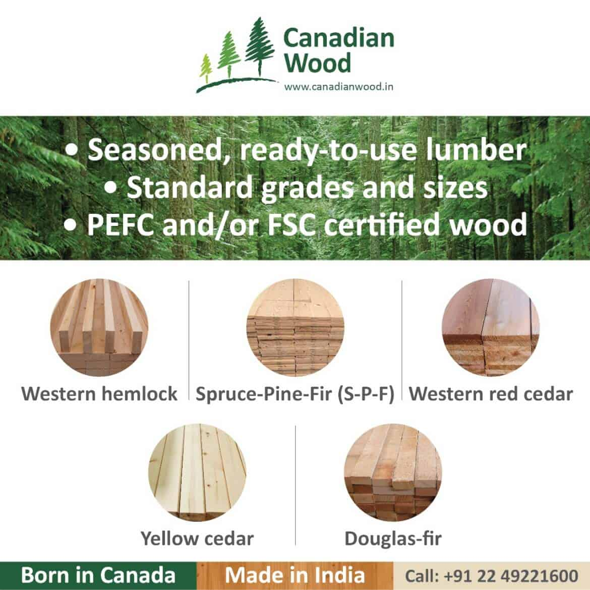 Canadian Wood Side ad