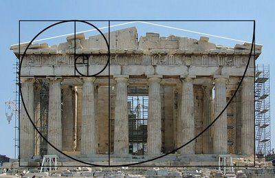 Golden Ratio, Parthenon